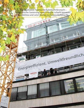 Hauptgebäude Sparkasse Kulmbach-Kronach – Energetische ...