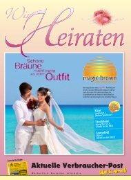 Wir heiraten 2013 - Sondermagazin Aktuelle ... - Avp24