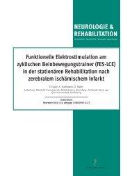 NEUROLOGIE & REHABILITATION - MOTOmed