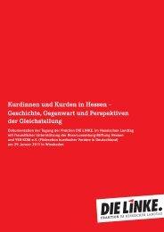 Dokumentation Kurden In Hessen (PDF) - Barbara Cárdenas