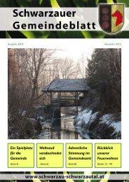 Gemeindeblatt.Schwarzau.2012-3 - Schwarzau im Schwarzautal