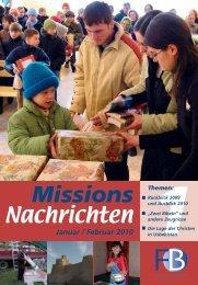 Nachrichten 2010-1 - Missionswerk FriedensBote