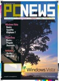 WindowsVista Basics Security IExplorer7 Basics Projekt ... - pcnews