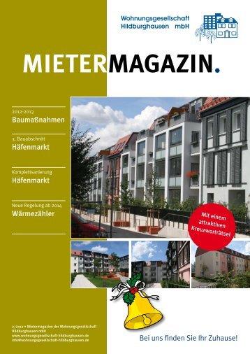 Ausgabe 2/2012 - Wohnungsgesellschaft Hildburghausen