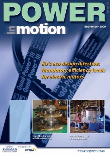 EU's eco design directive - Thomas Industrial Media