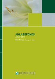 ANLAGEFONDS - Gérifonds