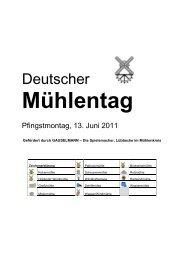 Teilnehmende Mühlen in Minden-Lübbecke - Neue Westfälische