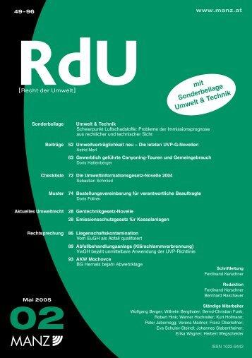 RdU-Artikel von Astrid Merl - Partizipation