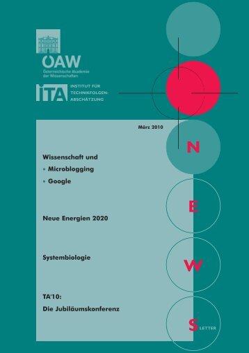 Microblogging und die Wissenschaft - Österreichische Akademie der ...