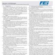 Allgemeine Lieferbedingungen Elektroindustrie Österreichs 09-2011