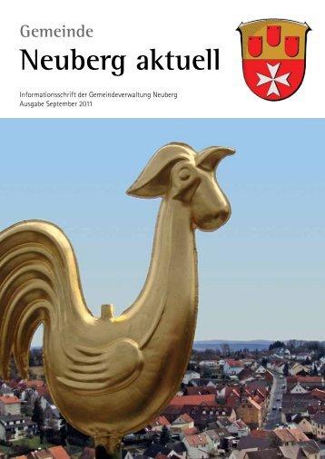 NEUBERG aktuell, Ausgabe 09/2011 - Gemeinde Neuberg