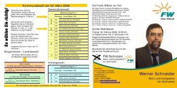 Flyer Kandidaten1 - Freie Wähler Landkreis Eichstätt