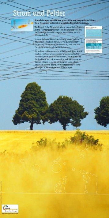 Strom und Felder