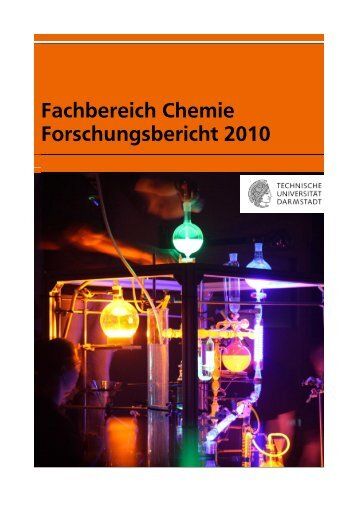 Forschungsbericht 2010 - Fachbereich Chemie