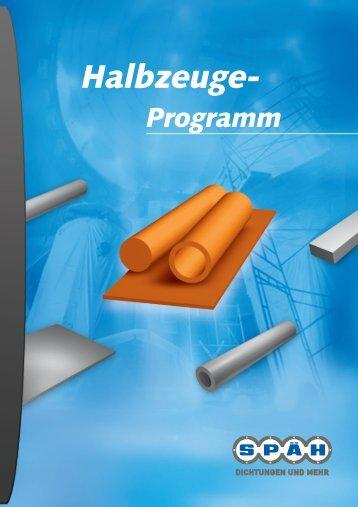 """Leistungsfeld """"Halbzeuge-Programm"""" - Spaeh.de"""