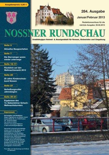Januar/Februar 2013 - Nossner Rundschau