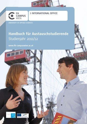 Handbuch für Austauschstudierende.pdf - FH Campus Wien