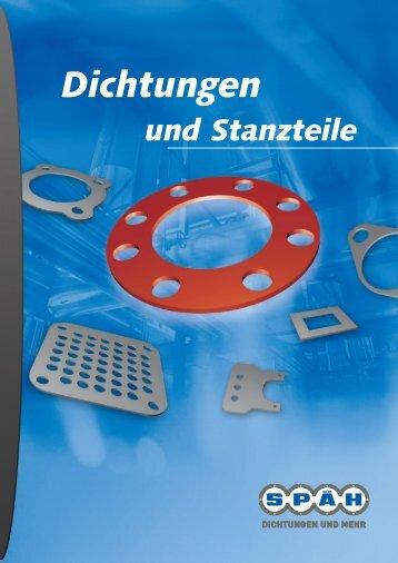 """Leistungsfeld """"Dichtungen und Stanzteile"""" - Spaeh.de"""