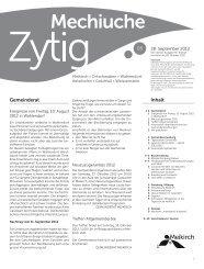 Nr.5 - 28. September 2012 - Meikirch