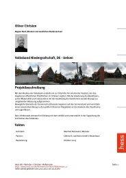 Oliver Christen Volksband Niedergrafschaft, DE - Uelsen ... - Hess AG