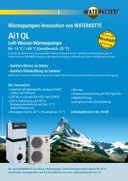 Ai1 QL Luft-Wasser-Wärmepumpe