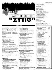 Zytig Nr.6 - Meikirch