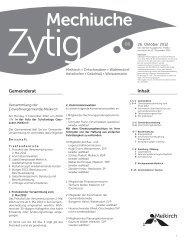 Nr.6 - 26. Oktober 2012 - Meikirch