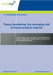 Tissue laundering: the emerging risk of tissue product imports