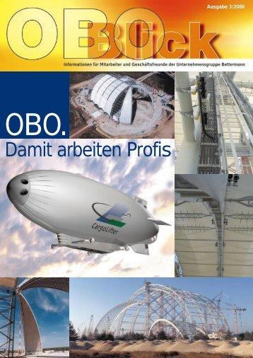 Damit arbeiten Profis - OBO Bettermann