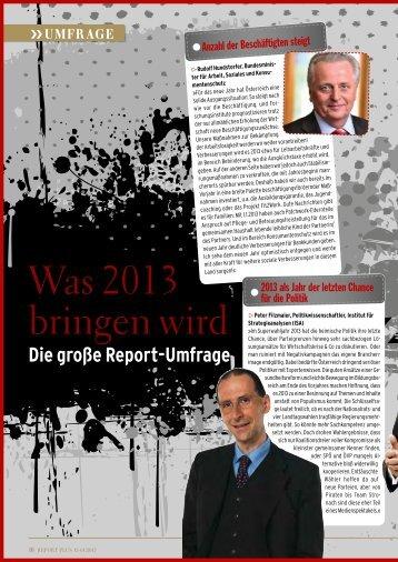 Seite 16-28: Was 2013 bringen wird - Report