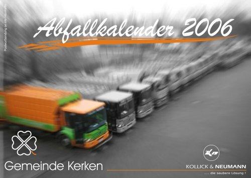 Abfallkalender Kerken - Kollick & Neumann GmbH