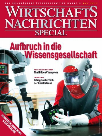Special 05/2011 Innovation, Forschung & Entwicklung