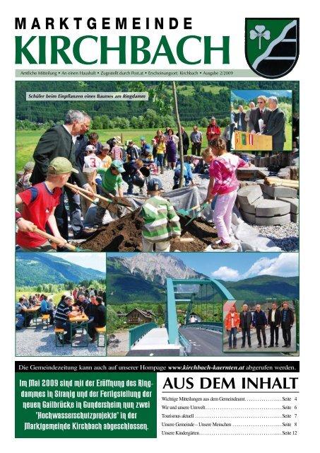 9632 Kirchbach in Krnten - Alle Infos Karte, Wetter und
