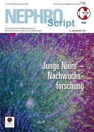 Junge Niere – Nachwuchs- forschung - Was ist Nephrologie?