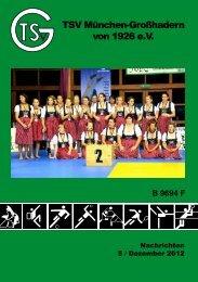 Vereinsheft 5/2012 - TSV Großhadern