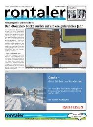 2012_52_01-24 - Regionalzeitung Rontaler AG