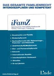DAS GESAMTE FAMiLiENRECHT - Linde Verlag