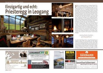 Einzigartig und echt: - Bergdorf Priesteregg