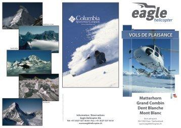 VOLS DE PLAISANCE Matterhorn Grand ... - Eagle Helicopters AG
