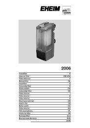 Manual ( pdf, 2.16 MB) - Eheim