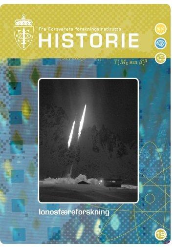 HISTORIE - Forsvarets forskningsinstitutt