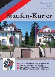 September 2009 - TV Staufia