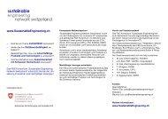 Flyer Sustainable Engineering Network Engineering Flyer