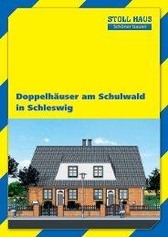 Doppelhäuser am Schulwald in Schleswig - Stoll Haus