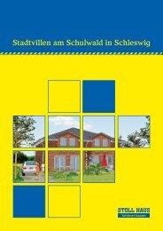 Stadtvillen am Schulwald in Schleswig - Stoll Haus