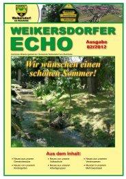 Ausgabe 02/2012 - in der Gemeinde Weikersdorf