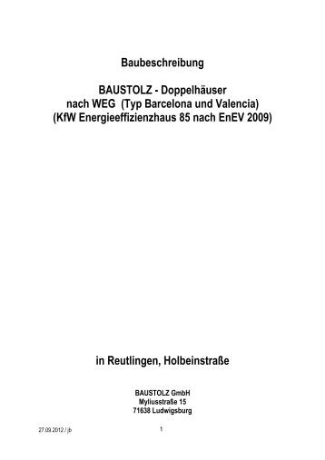 Baubeschreibung PDF Download - Baustolz