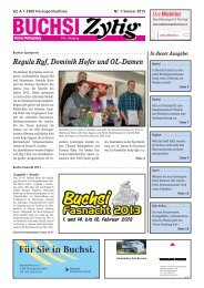 Nr. 1/Januar 2013 - Herzogenbuchsee
