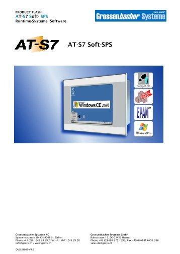 AT-S7 Soft-SPS - Grossenbacher Systeme AG