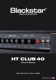 HT CLUB 40 - Blackstar Amplification
